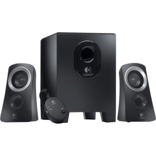 Logitech Sistema de alto-falantes Logitech Z313 2.1 - 25 W RMS