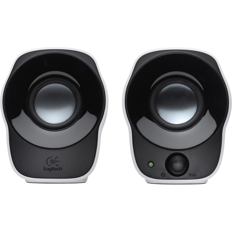 Logitech Sistema de alto-falantes Logitech Z120 2.0 - 1.2 W RMS