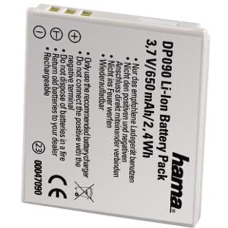 Hama GmbH & Co KG Bateria Hama DP090 - Íon de Lítio (Li-Ion)