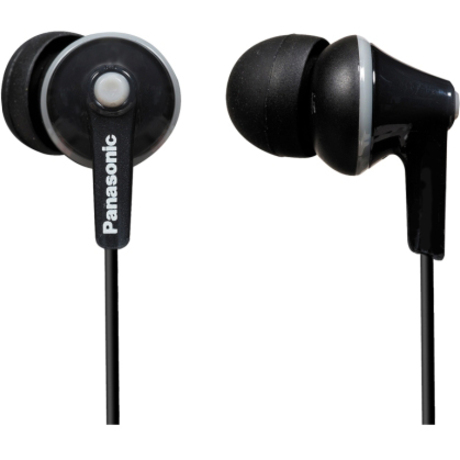 Panasonic Panasonic RP-HJE125 Wired Headset - Intra-Earphone - Biauricular - Stereo - Black