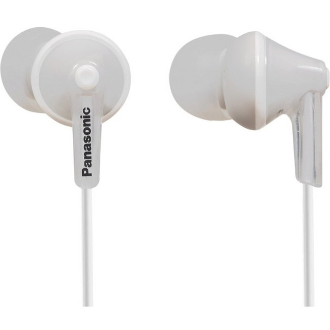 Panasonic Panasonic RP-HJE125 Wired Headset - Intra-Earphone - Biauricular - Stereo - White