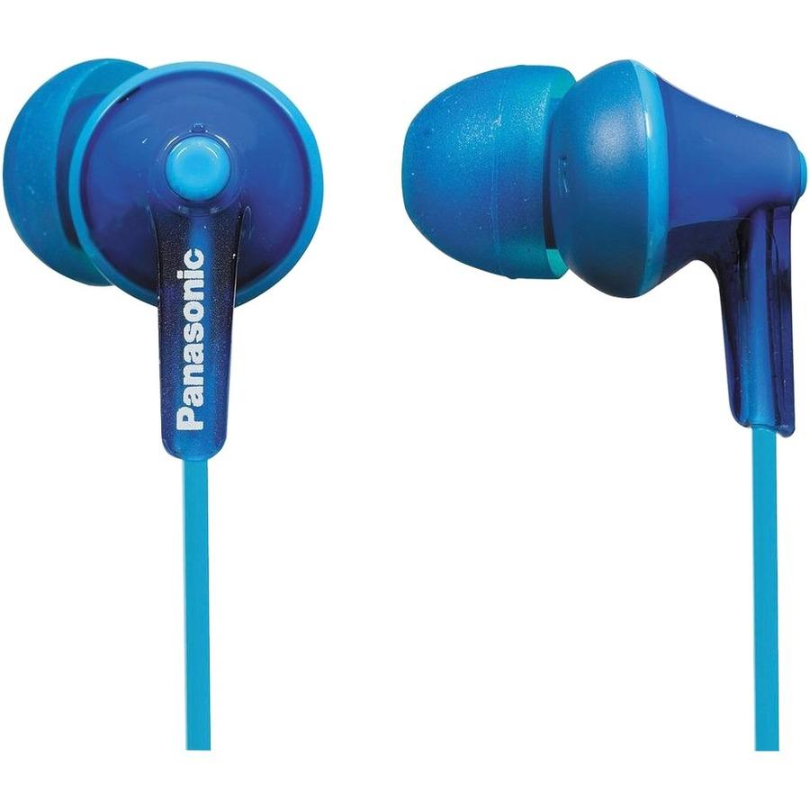 Panasonic Fone de ouvido com fio Panasonic Ergo Fit - Intra-Earphone - Biauricular - Estéreo - Azul