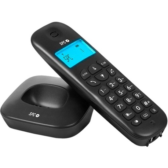 SMART PRODUCTS CONNECTION S.A. SPC AIR 7300 Wireless Phone - DECT - Black