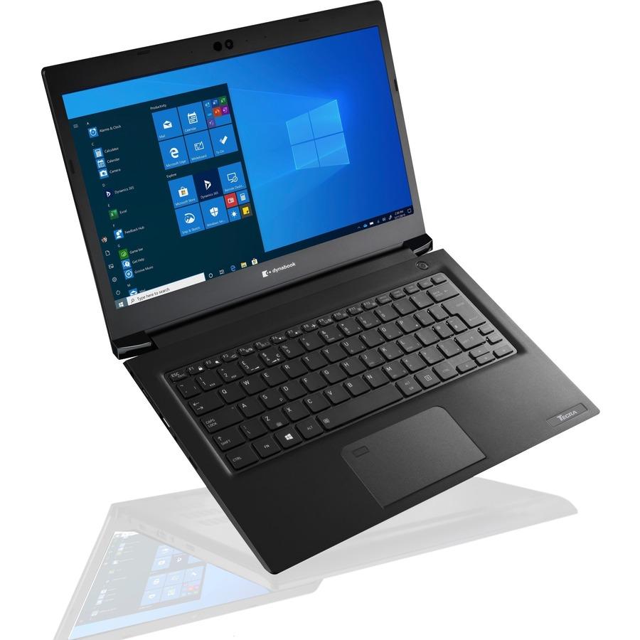 """Toshiba Portable - Dynabook Tecra A30-G A30-G-116 33.8 cm (13.3"""") - Full HD - 1920 x 1080 - Intel Core i5 (10th generation) i5-10210U 1.60 GHz - 8 GB RAM - 256 GB SSD - Black"""