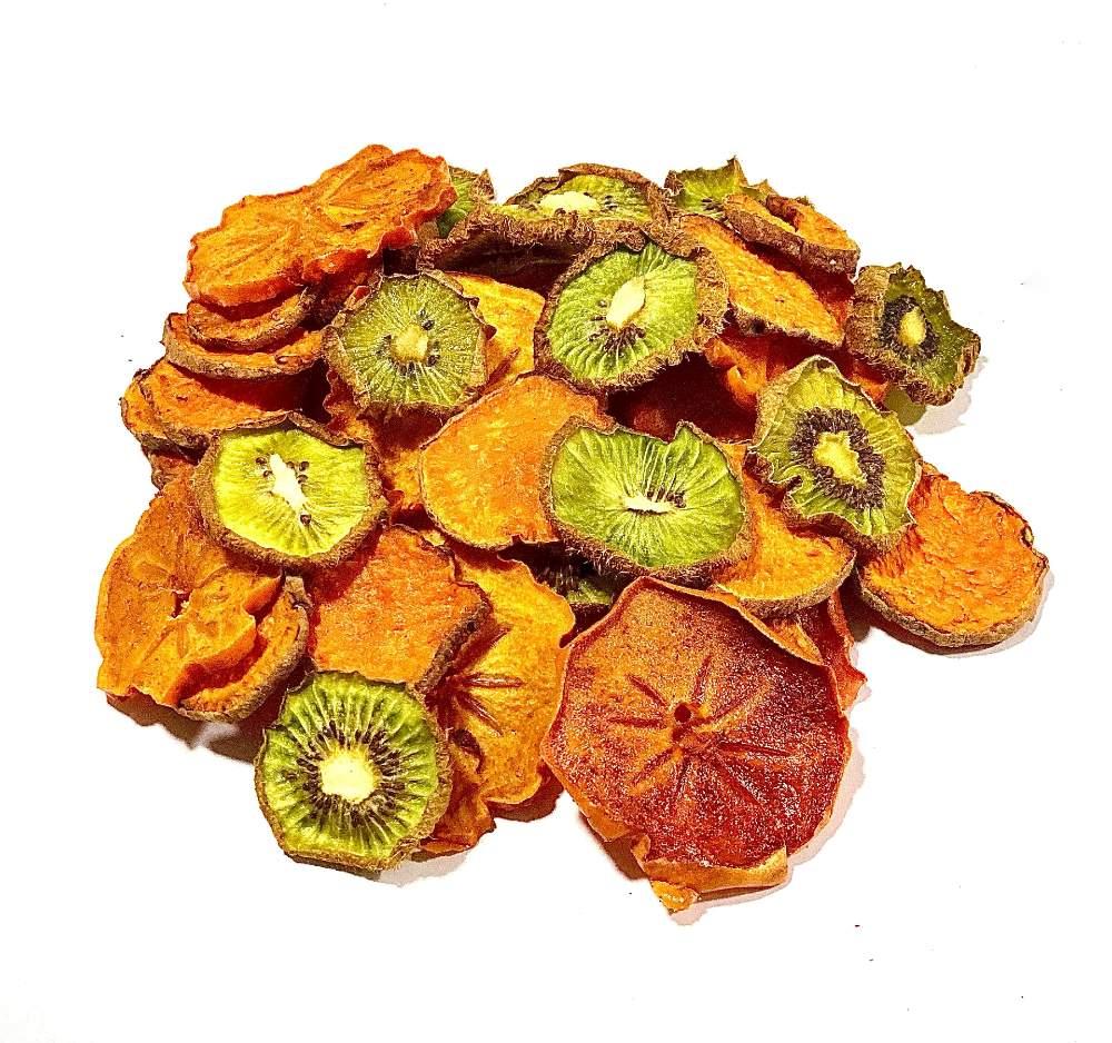 Boniato, caqui y kiwi deshidratado - Bolsa de 25 g