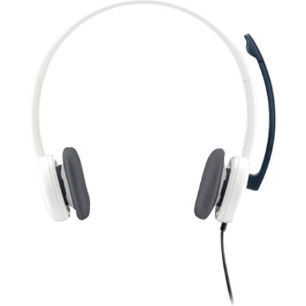 Logitech Auriculares Logitech H150 Cableado De Diadema Estéreo - Blanco