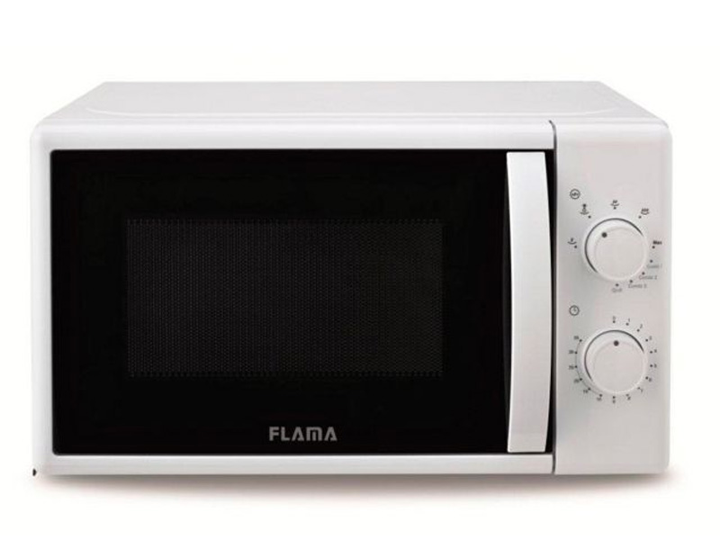 FLAMA MICROWAVE FREE INSTALLATION FLAMA 20L 700W WITH WHITE GRILL 1884FL