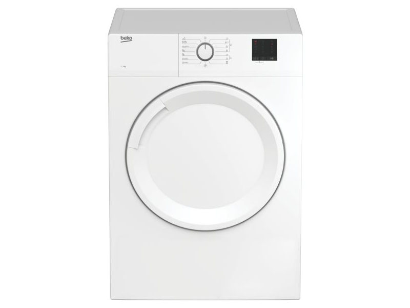 BEKO EVACUATION BEKO DRYER 7KG C DA7011PA WHITE