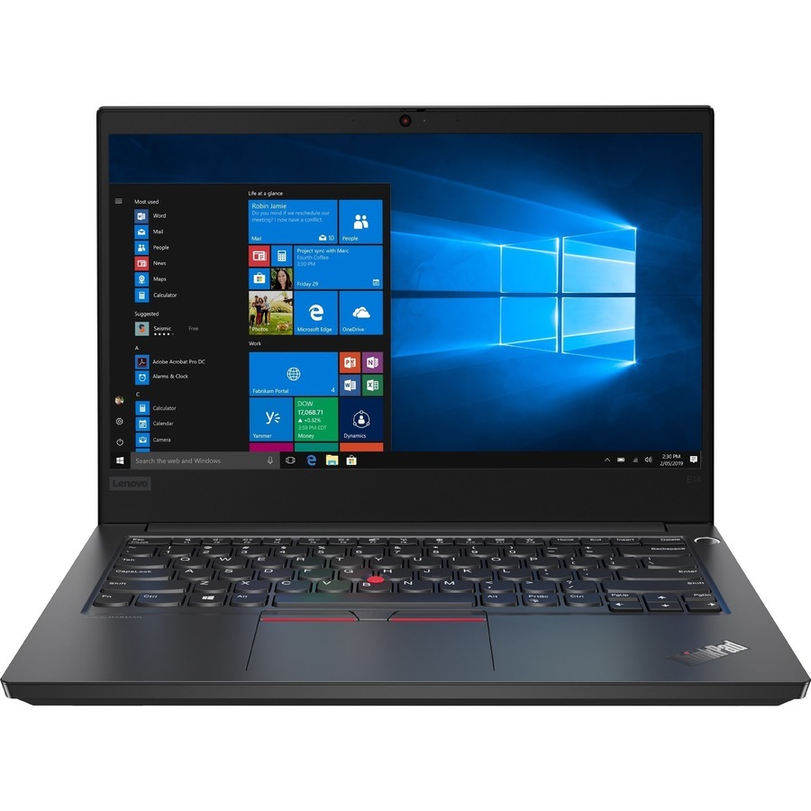 "Lenovo Group Limited Laptop - Lenovo ThinkPad E14 20RA000XSP 35.6cm (14"") - Full HD - 1920 x 1080 - Intel Core i3 (10ª Geração) i3-10110U Dual-core (2 Core) 2.10 GHz - 8GB RAM - 256GB SSD - Satin Black"