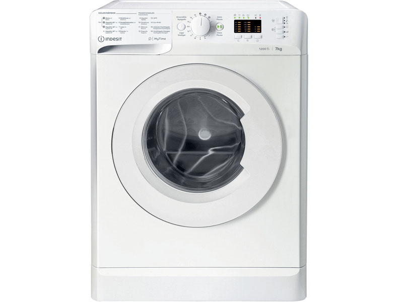INDESIT WASHING MACHINE INDESIT FRONT CHARGE 7KG 1200rpm A+++ MTWA71252WSPT