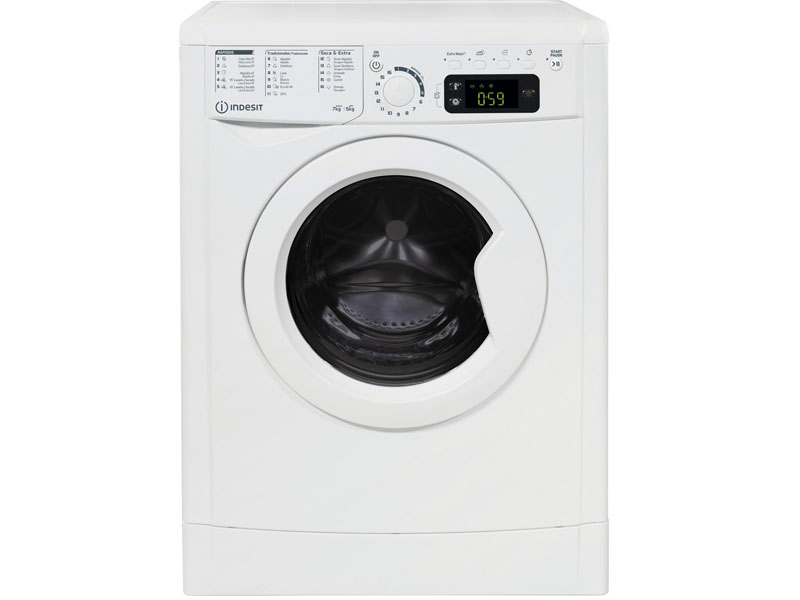 INDESIT WASHER DRYER INDESIT 7KG/5KG 1200rpm B EWDE751251WSPTN