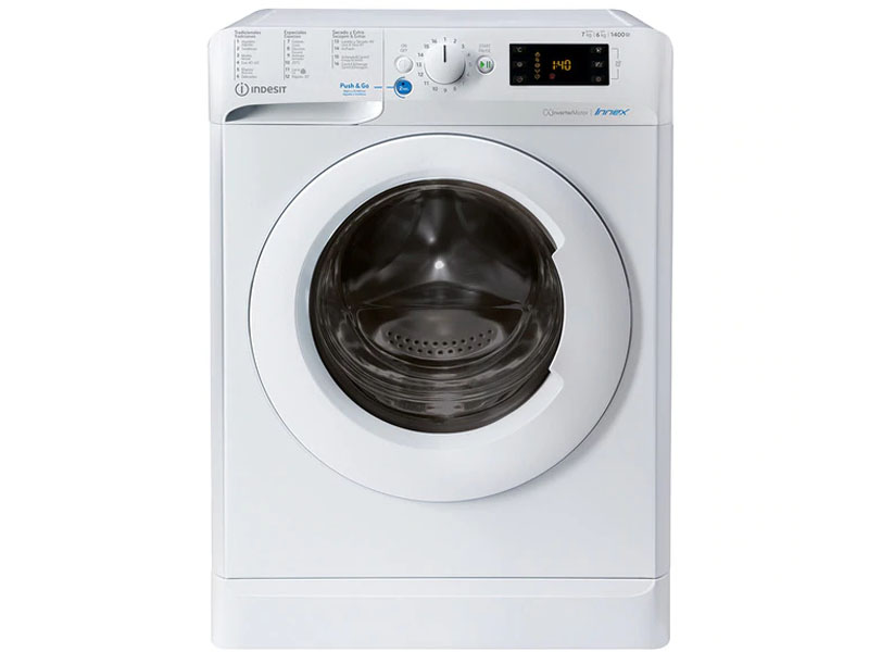 INDESIT WASHER DRYER INDESIT 7KG/5KG 1400rpm BDE761483XWSPTN