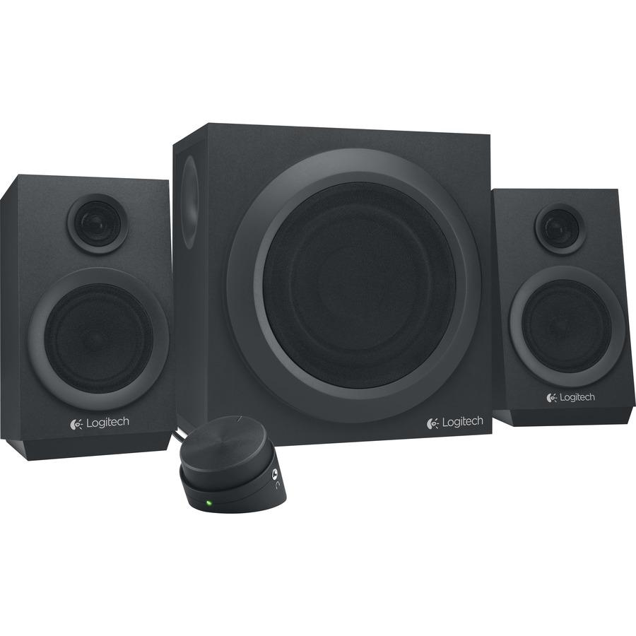 Logitech Sistema de alto-falantes Logitech Z333 2.1 - 40 W RMS