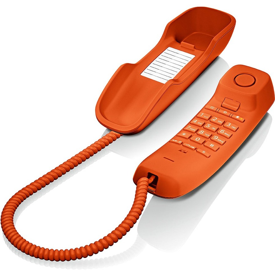Gigaset Communications GmbH Standard Phone Gigaset DA210 - Orange