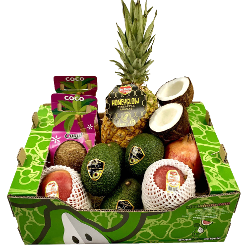 Cesta de fruta tropical premium, 6 kg