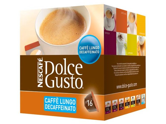 DOLCE GUSTO NESCAFE LUNGO DECAFEINATO DOLCE GUSTO