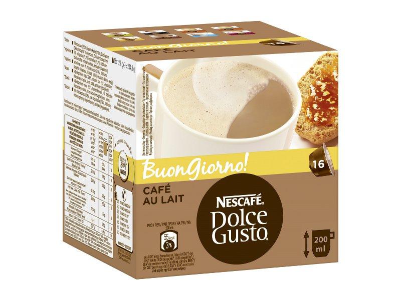 DOLCE GUSTO NESCAFE CAFE AU LAIT DOLCE GUSTO