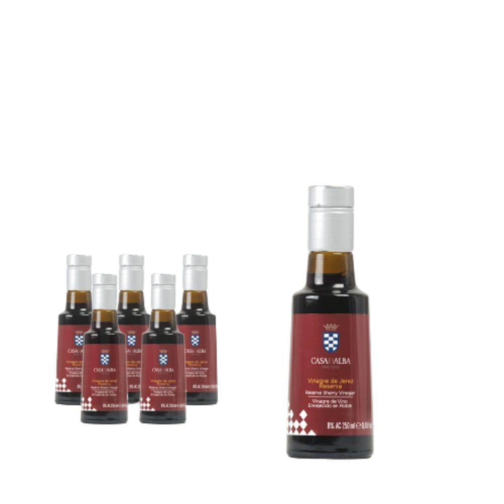 Vinagre Reserva D.O. Jerez Lote de 6 Botellas de 250ml