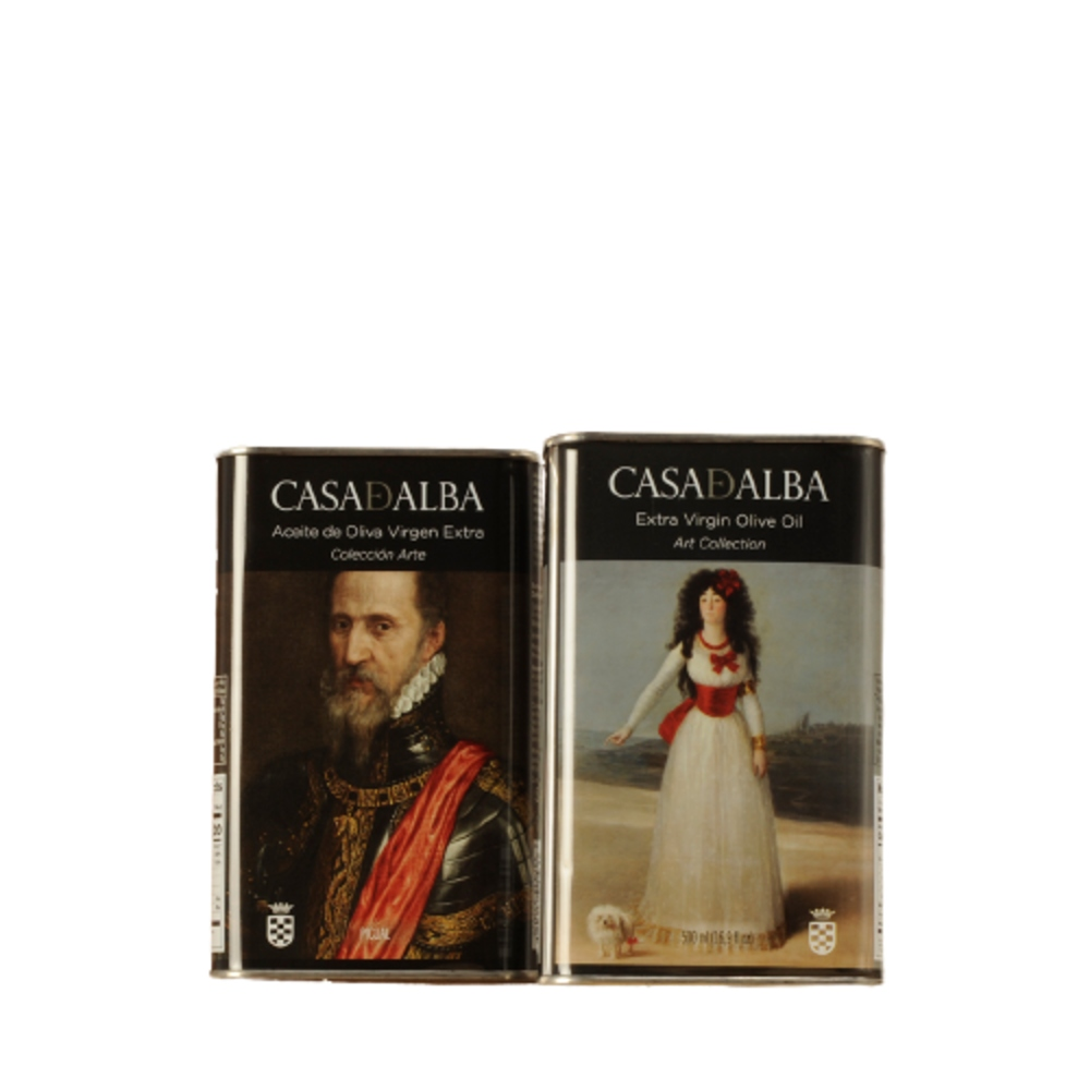 Aceite de Oliva Virgen Extra Colección Arte de Casa de Alba - ESPECIAL REGALO