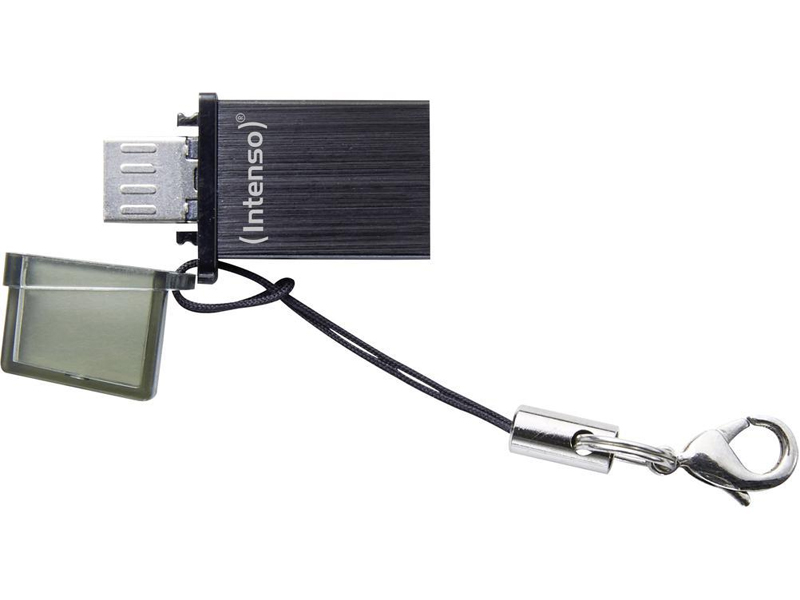 INTENSO PENDRIVE USB/MICRO USB 16GB MINI MOBILE LINE 3524470 (B) INTENSE