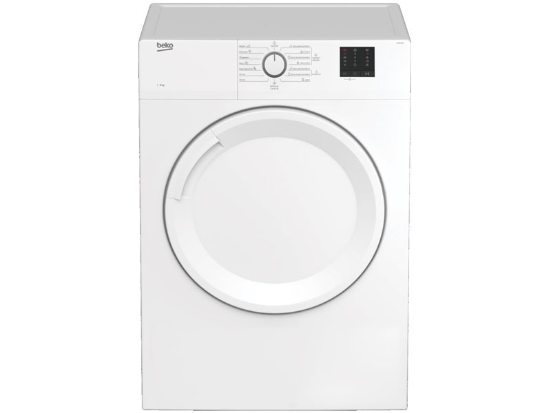 BEKO EVACUATION BEKO DRYER 8KG C DV8120N WHITE