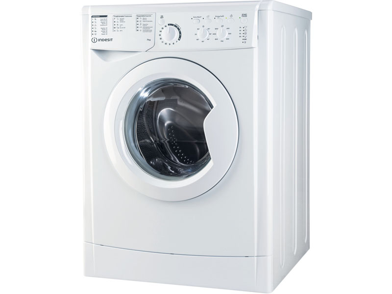 INDESIT INDESIT WASHING MACHINE FRONT CHARGE 7KG 1200rpm A+++ EWC71252WSPTN