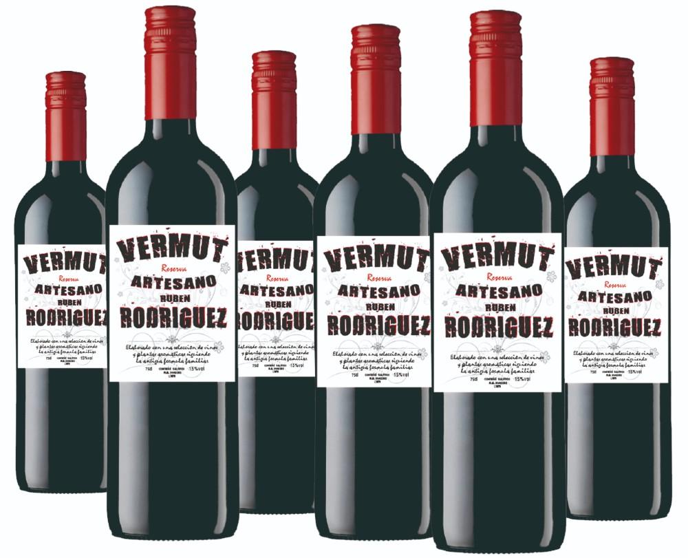 Vermut rojo reserva