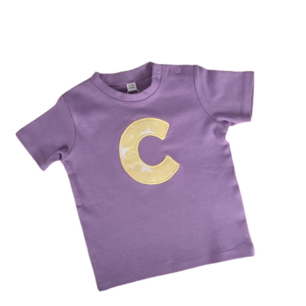 Lavanda Soleada (Camiseta Personalizada Infantil 0-8 años)
