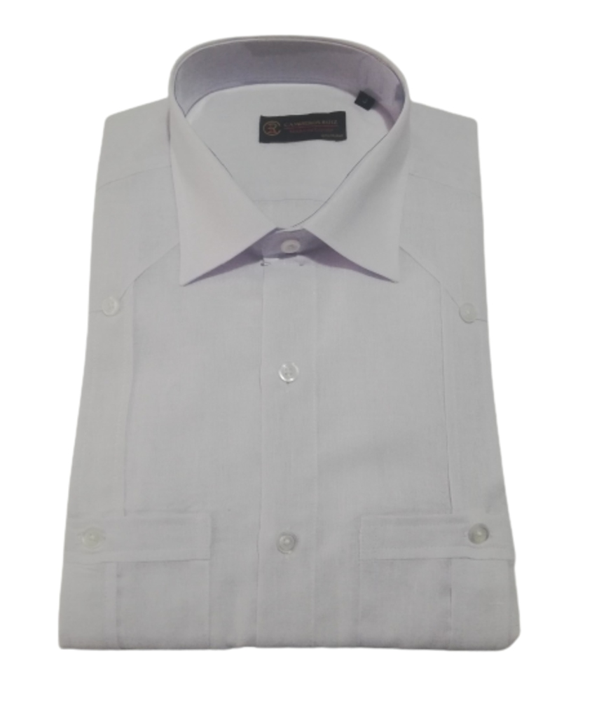 Camisa Cubana 2 Blanco