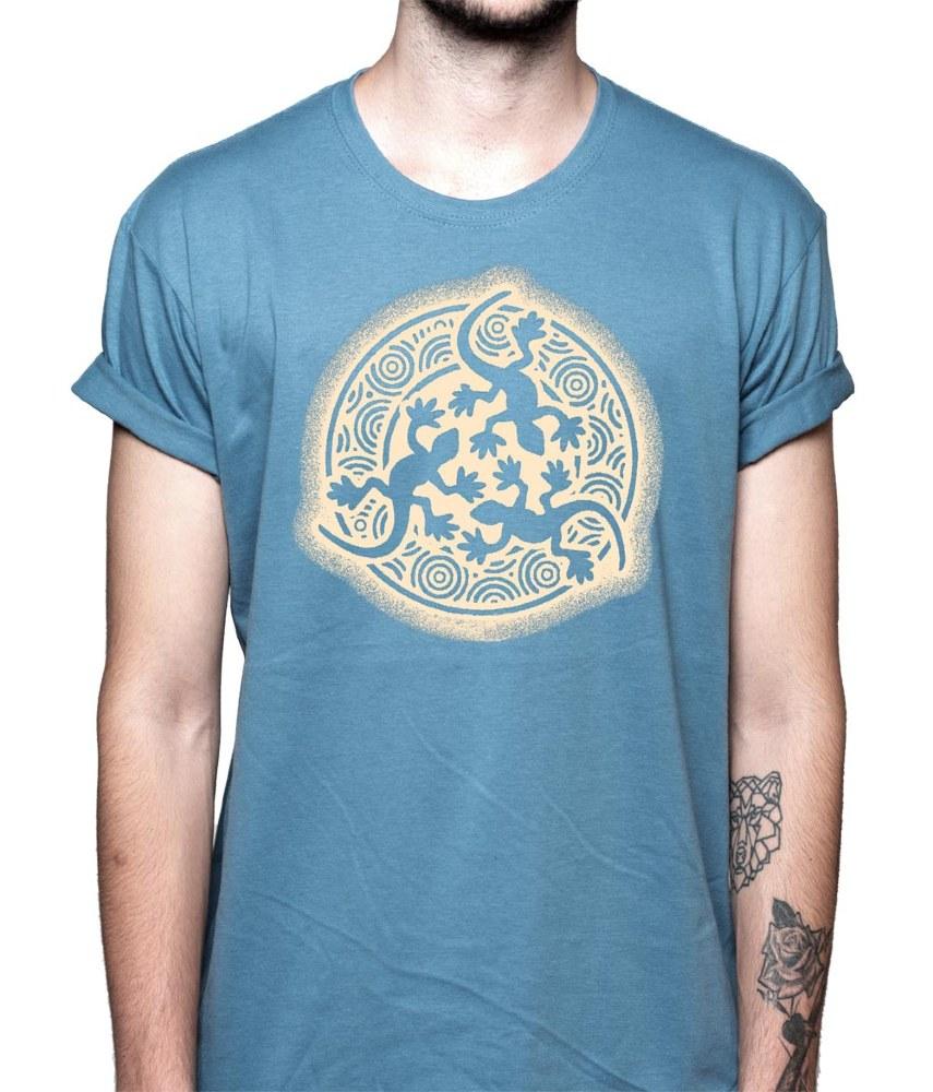 Camiseta tres lagartos (modelo 28)