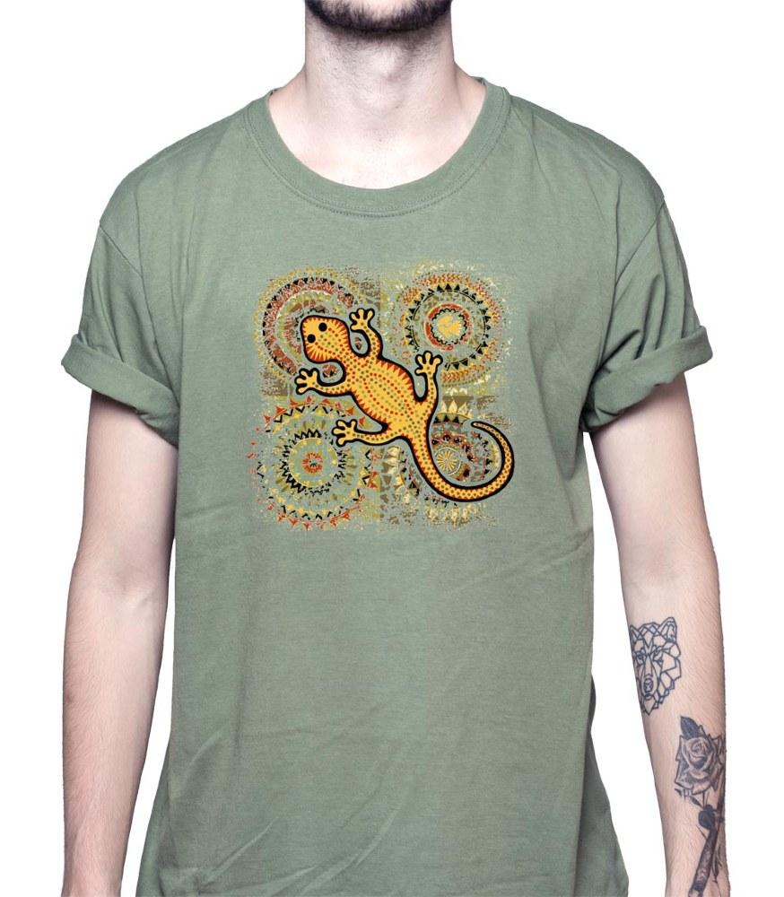 Camiseta Lagarto Amarillo (modelo 51)