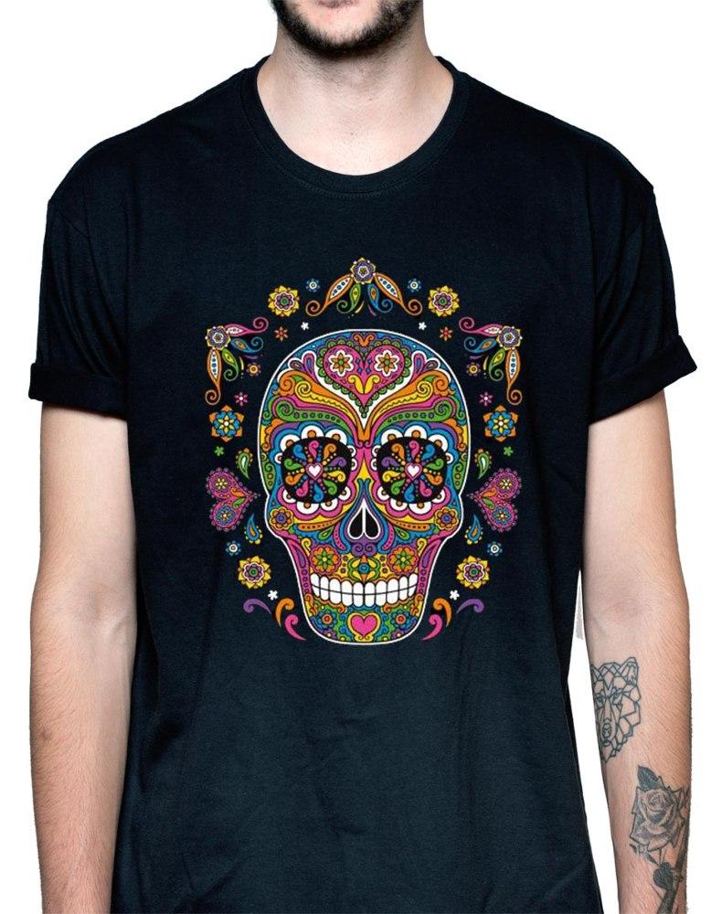 Camiseta Calavera (modelo 100)