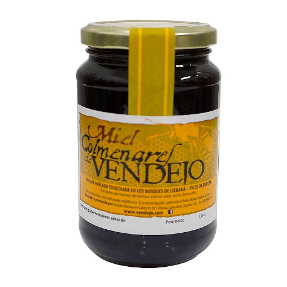 PACK 6 TARROS DE 1/2 KG de Miel de bosque – Miel de Liébana, Cantabria 1kg