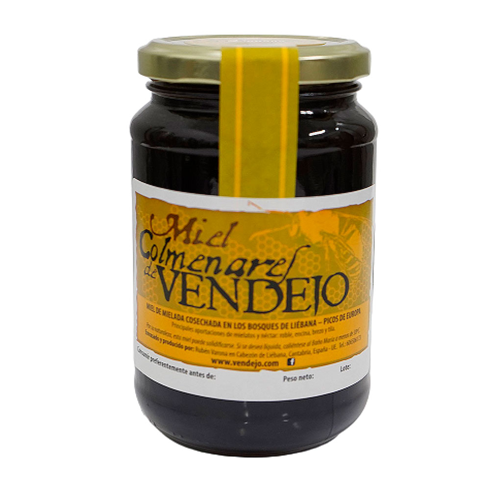 PACK SÚPER AHORRO - 12 tarros de 1/2 kg de Miel de bosque – Miel de Liébana, Cantabria