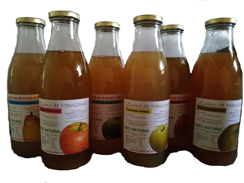 Villaveza Fruta de Toro Villaveza Bull Fruit Natural Juice Batch 6 bottles of 1 liter