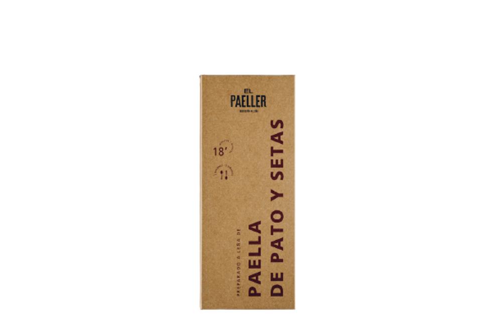 Paella de Pato y Setas