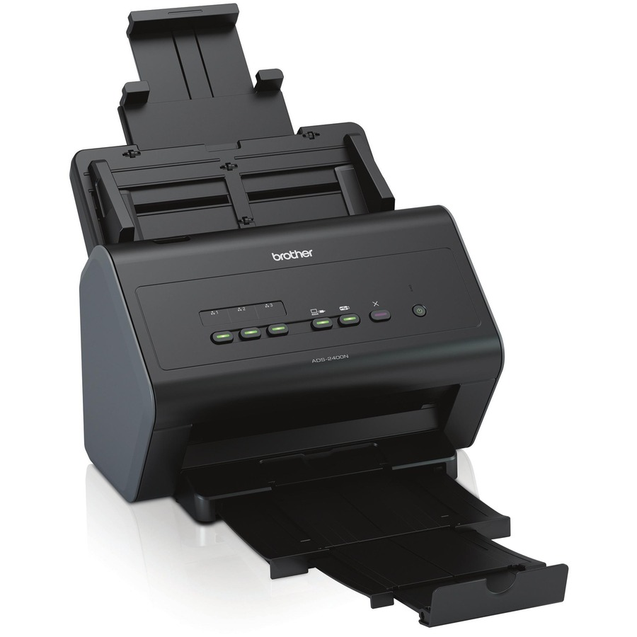 Brother Industries, Ltd Brother ADS-2400N Flat Surface Scanner - 600 dpi Optical