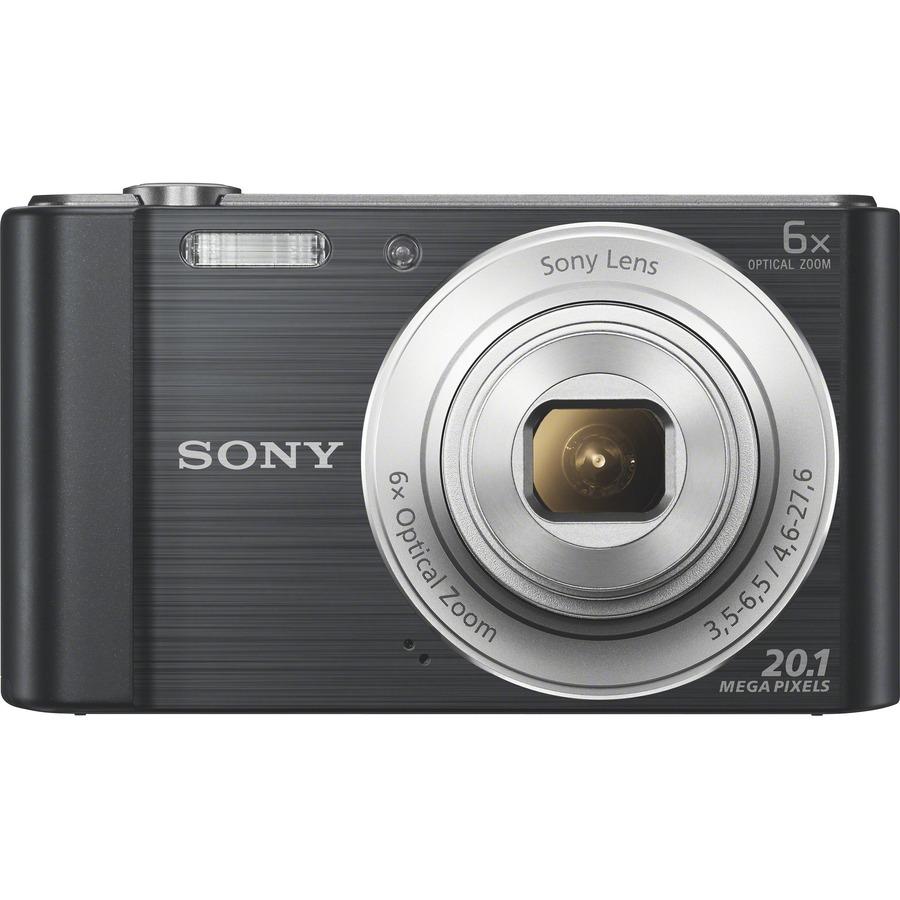 Sony Corporation Sony Cyber-shot DSC-W810 Compact Camera - 20.1 Megapixel - Black