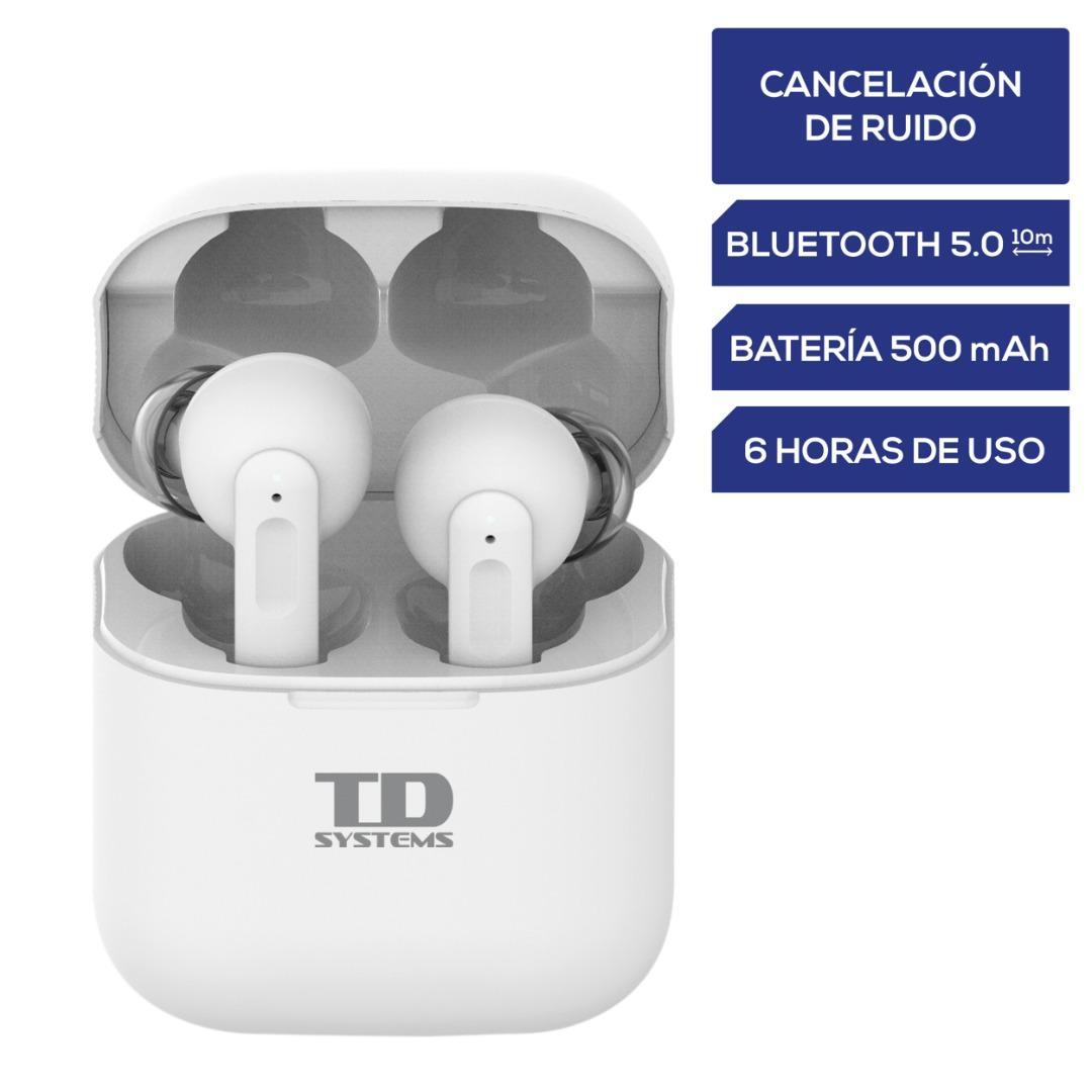 TDSystems Fones de ouvido com cancelamento de ruído Bluetooth - Sistemas TD SH500G11ANC