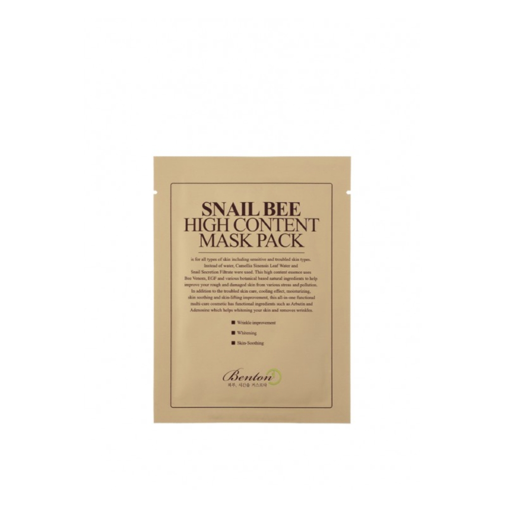 Benton -Snail Bee High Content Mask