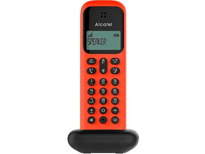 ALCATEL DECT D285 RED/BLACK ALCATEL