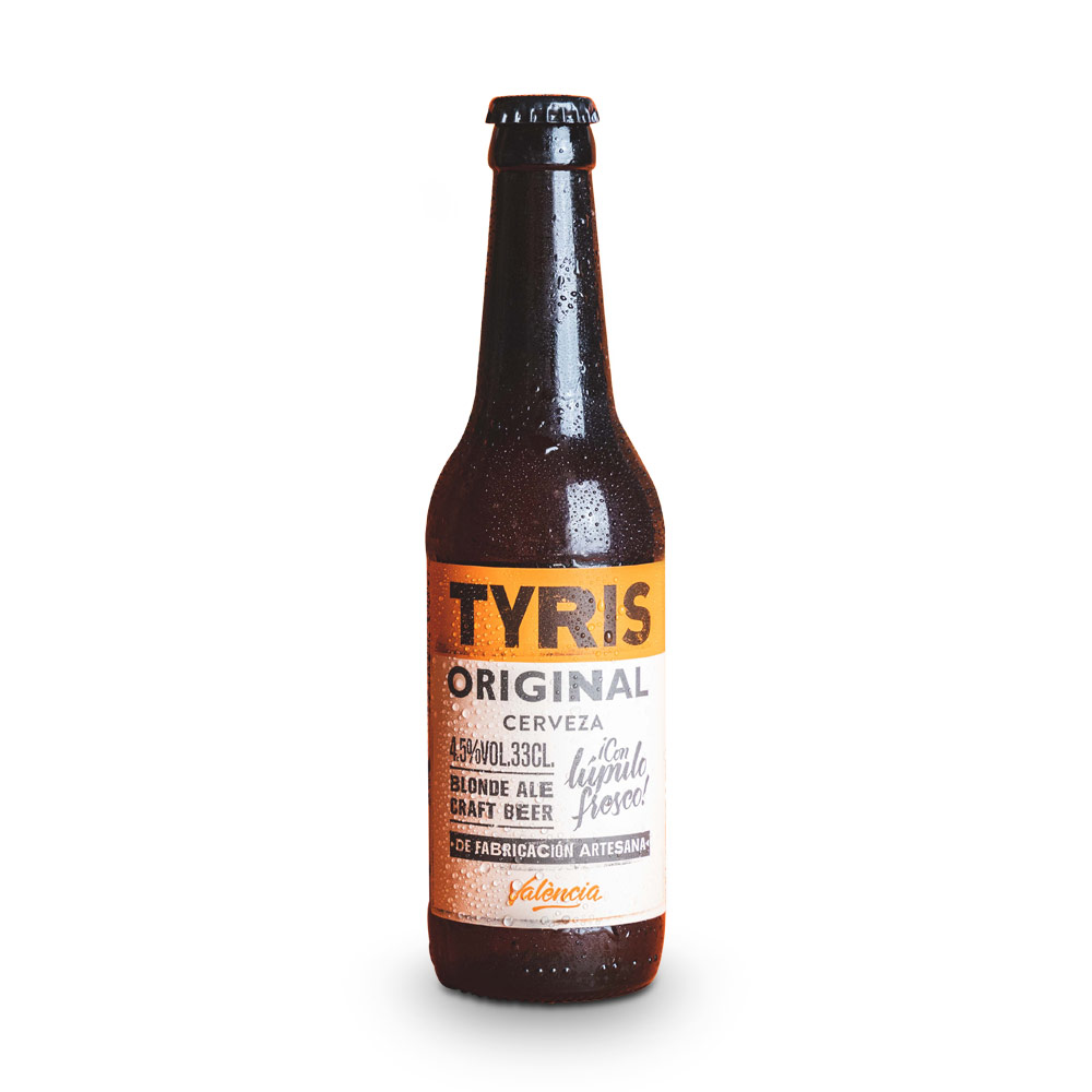 Tyris Original Blonde Ale - 12 botellas 33 cl