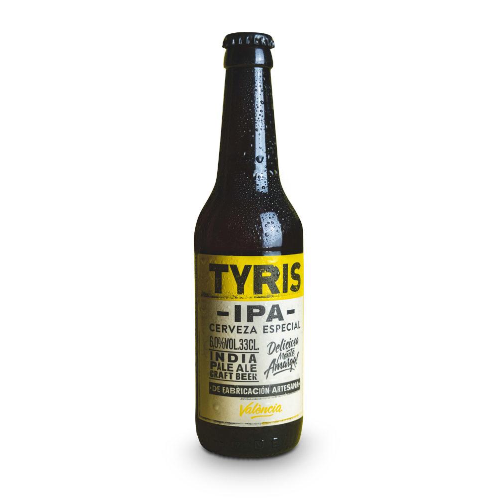 Tyris IPA - 12 botellas 33 cl