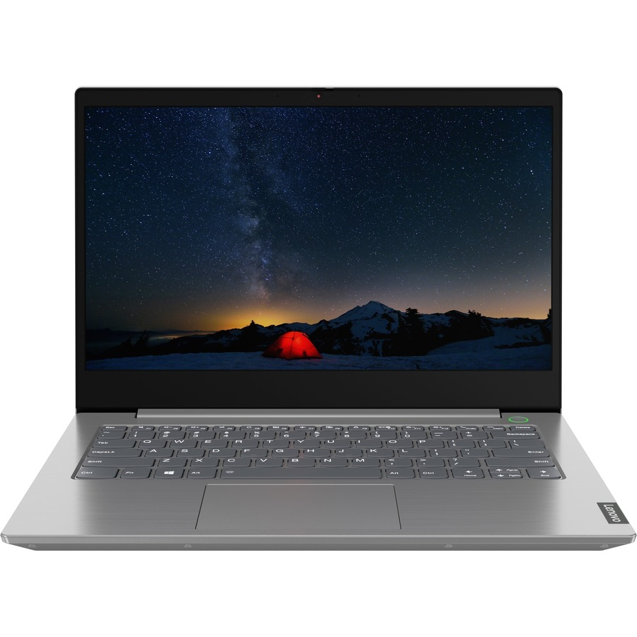 "Lenovo Group Limited Notebook - Lenovo ThinkBook 14-IIL 20SL00D3SP 35,6 cm (14"") - Full HD - 1920 x 1080 - Intel Core i3 (10ª geração) i3-1005G1 Dual-core (2 Core) 1.20 GHz - 8 GB RAM - 256 GB SSD - Cinza - Cinza"