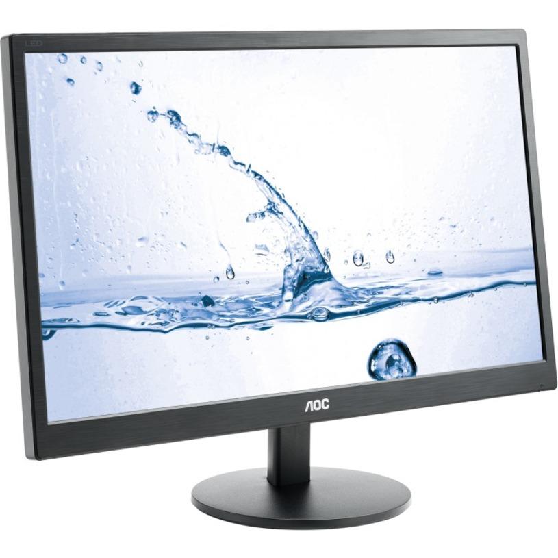 "AOC Monitor LCD AOC Linha de valor M2470SWH 59,9 cm (23,6"") LED Full HD - 16:9 - Preto"