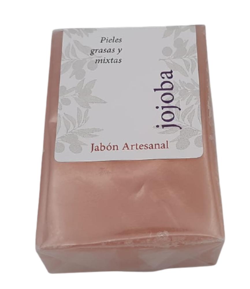 Jabón artesanal de aceite de oliva virgen extra y jojoba