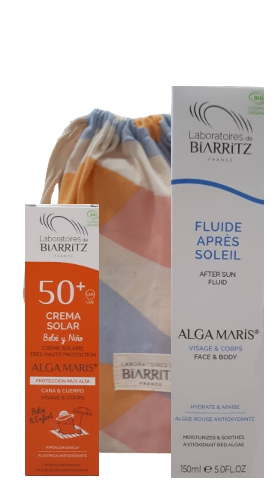 Pack productos solares niño ecocert