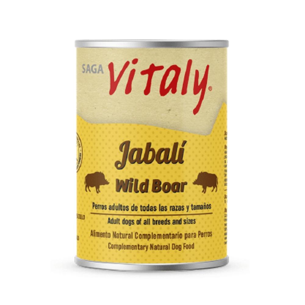 VITALY JABALÍ 400 G Comida Húmeda Natural para Perros