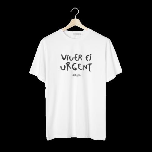 Vivir es Urgente. La T-shirt de Pau - Man - Aranés - Canarias