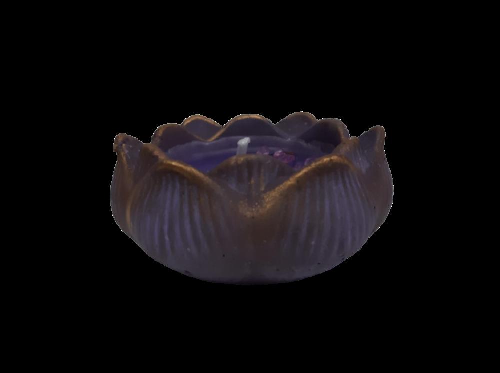 Velas Aromáticas con Olor Canela Azul